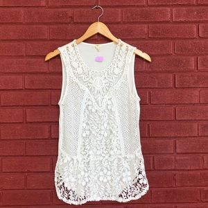 Tiny | Anthropologie Embroidered Tank